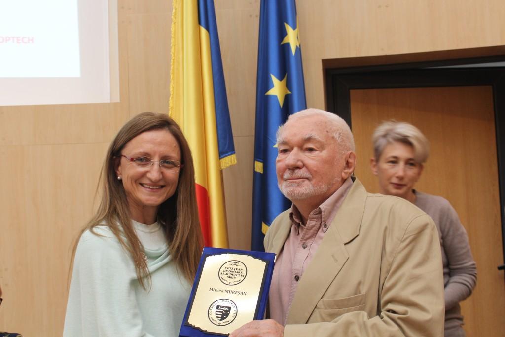 Cetățean de onoare al Județului Sibiu