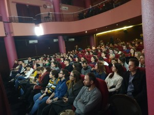 foto comunicat spectatori in Cluj