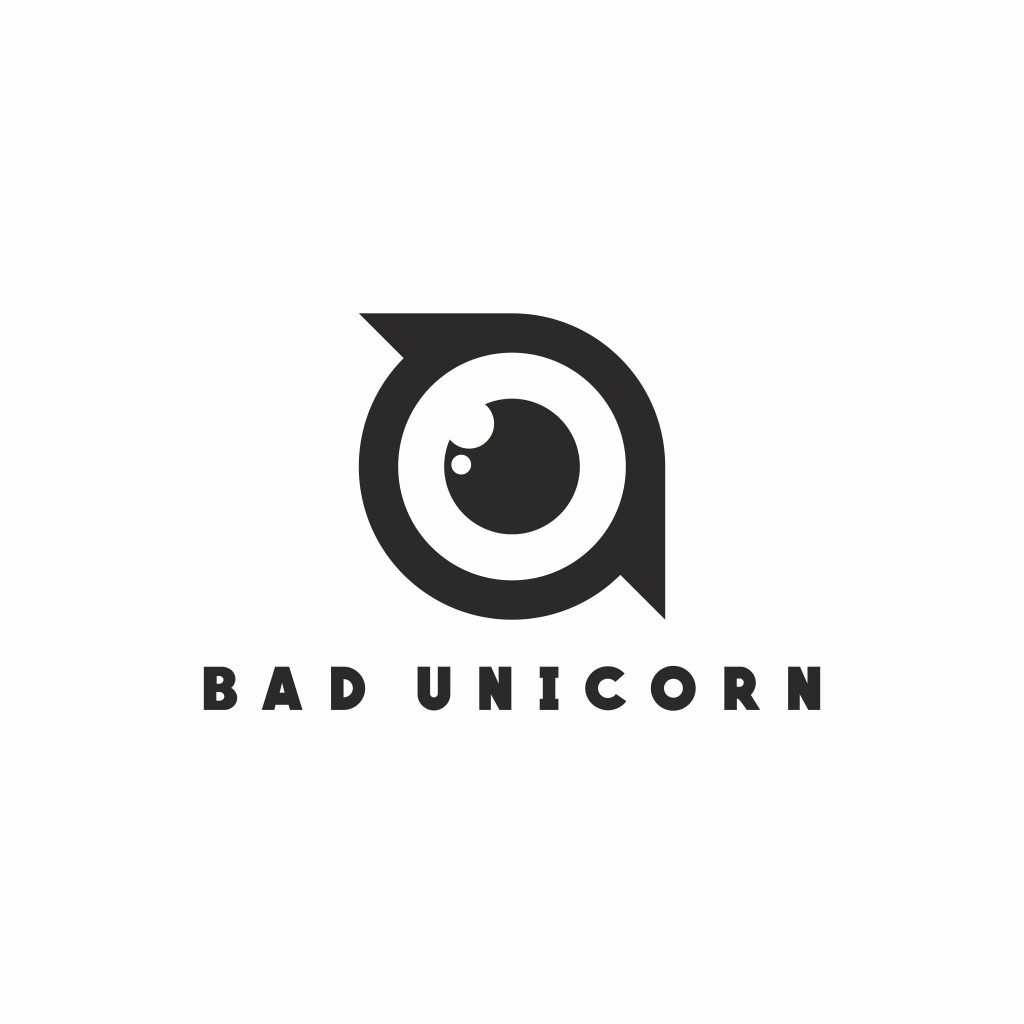 BAD UNICORN LOGO pozitiv
